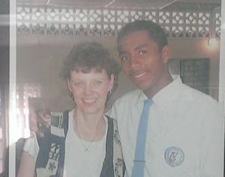Anthony and Sherry in 1999