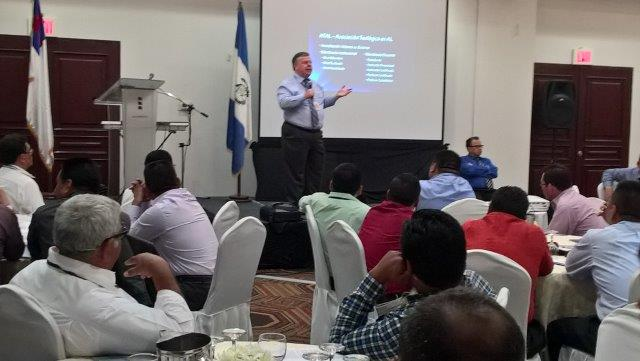 Rod teaching in Guatemala