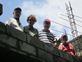 Chepo School construction May 2011
